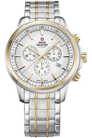 CHRONO Reloj analógico SM34052.05, Quartz, 42mm, 10ATM para hombre