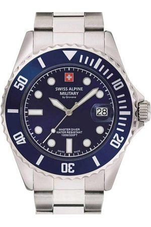 Swiss Alpine Military Reloj analógico 7053.1135, Quartz, 42mm, 10ATM para hombre