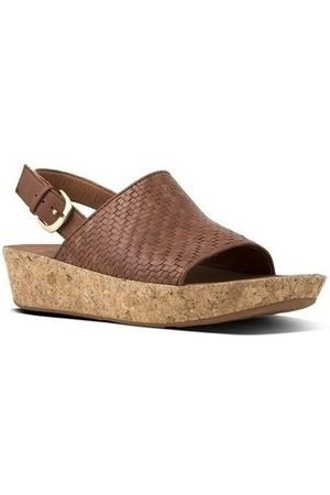 FitFlop Sandalias BALI TM BACK-STRAP SANDALS - COGNAC para mujer