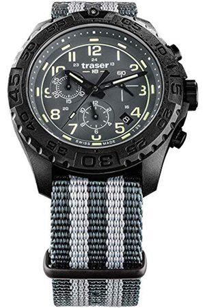 Traser H3 Reloj analógico 109046, Quartz, 44mm, 20ATM para hombre