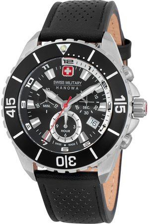 CHRONO Reloj analógico 06-4341.04.007, Quartz, 44mm, 10ATM para hombre