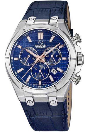 Jaguar Reloj analógico J696/2, Quartz, 44mm, 10ATM para hombre