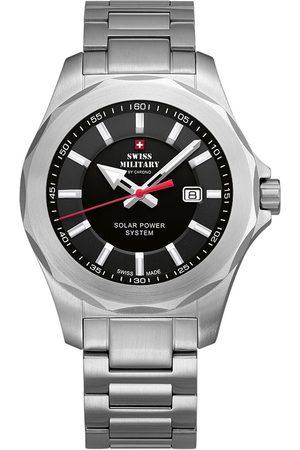 CHRONO Reloj analógico SMS34073.01, Quartz, 42mm, 10ATM para hombre
