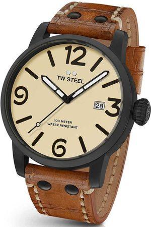 Tw-Steel Reloj analógico MS42, Quartz, 48mm, 10ATM para hombre