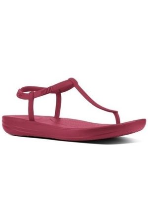 FitFlop Chanclas iQUSION SPLASH - SANDALS - IRON RED es para mujer