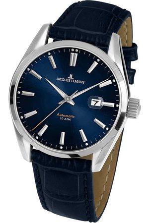Jacques Lemans Reloj analógico 1-1846.1B, Automatic, 43mm, 10ATM para hombre
