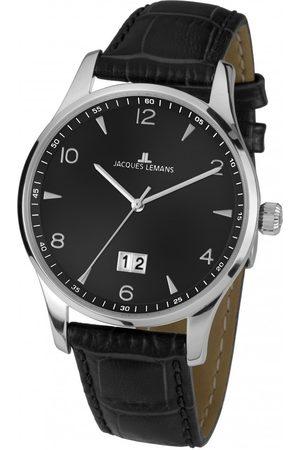 Jacques Lemans Reloj analógico 1-1862ZA, Quartz, 40mm, 10ATM para hombre
