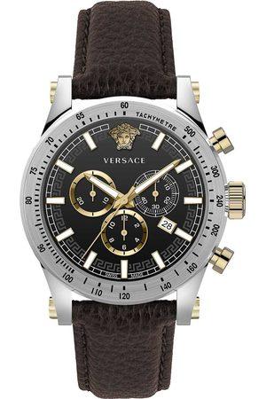 VERSACE Reloj analógico VEV800119, Quartz, 44mm, 5ATM para hombre