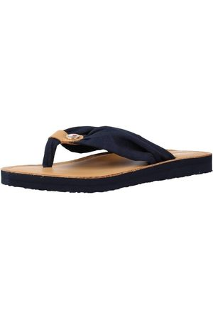 Tommy Hilfiger Sandalias LEATHER FOOTBED BEACH SA para mujer