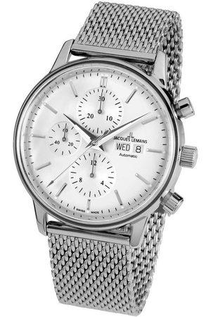 Jacques Lemans Reloj analógico N-208E, Automatic, 44mm, 5ATM para hombre