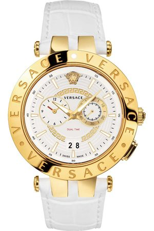 VERSACE Reloj analógico VEBV00319, Quartz, 46mm, 5ATM para hombre