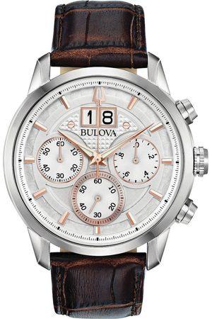 BULOVA Reloj analógico 96B309, Quartz, 44mm, 3ATM para hombre