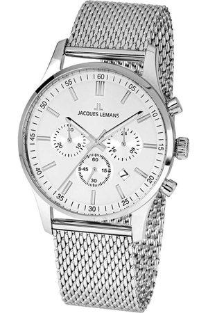 Jacques Lemans Reloj analógico 1-2025G, Quartz, 42mm, 10ATM para hombre