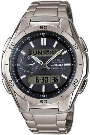 Casio Hombre Relojes - Reloj digital WVA-M650TD-1AER, Quartz, 44mm, 10ATM para hombre