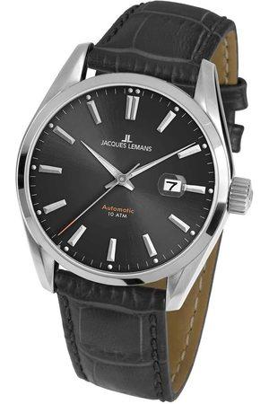 Jacques Lemans Reloj analógico 1-1846A, Automatic, 42mm, 10ATM para hombre