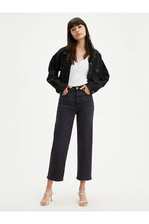 Levi's Ribcage Straight Ankle Jeans Neutral / Feelin' Cagey