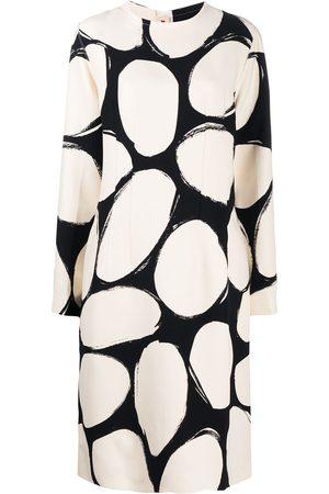 Marni Mujer Estampados - Vestido con estampado oval
