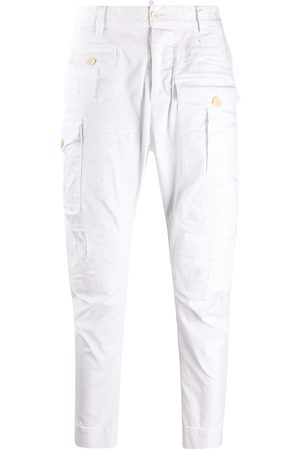 Dsquared2 Hombre Pantalones cargo - Pantalones tipo cargo tapered