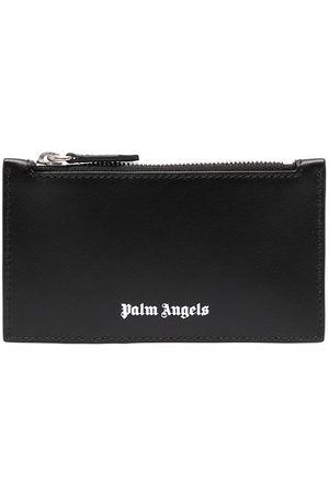 Palm Angels Tarjetero Essential con logo