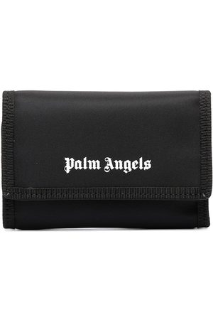 Palm Angels Cartera plegable con logo