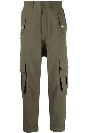 Balmain Pantalones tipo cargo capri