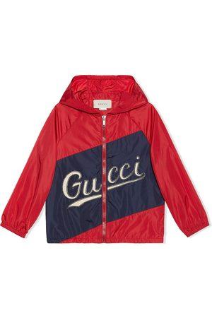 Gucci Chaqueta con logo cosido
