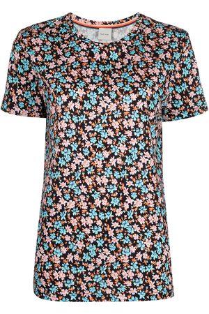 Paul Smith Camiseta con estampado floral