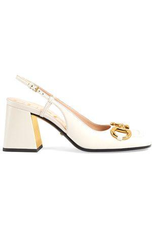 Gucci Zapatos de tacón medio con detalle Horsebit