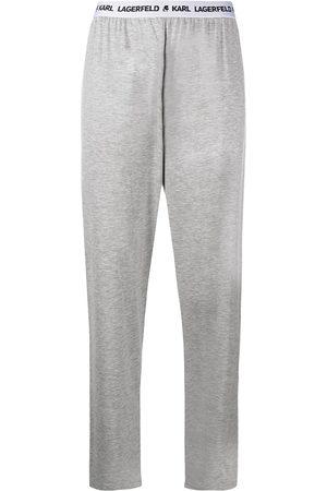 Karl Lagerfeld Pijama con logo en la cintura