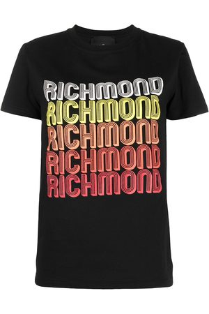 John Richmond Camiseta con logo estampado