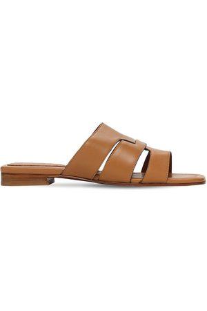 MANU ATELIER   Mujer Zapatos Mules De Piel 15mm 35