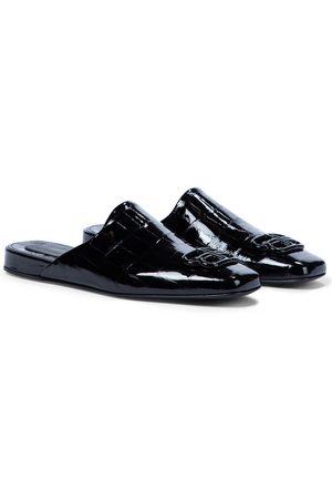 Balenciaga Slippers Cosy BB de charol
