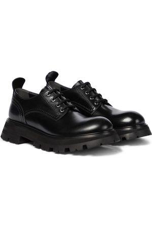 Alexander McQueen Zapatos Derby Wander de piel