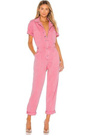 Pistola Grover jumpsuit en color rosado talla L en - Pink. Talla L (también en M).