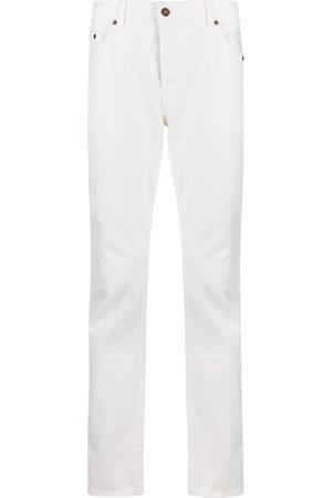 Saint Laurent Hombre Slim - Vaqueros slim con efecto lavado