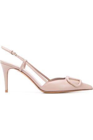 VALENTINO GARAVANI Mujer Tacón - Zapatos de tacón de 85mm VLOGO