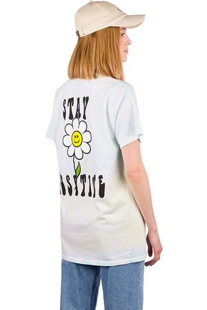 A.Lab Mujer Manga corta - Stay Positive T-Shirt blanco