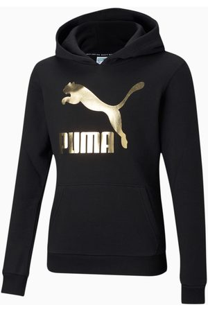 PUMA Sudadera con Capucha Classics Logo Juvenil, , Talla 104