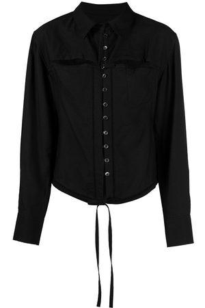 Jacquemus Mujer Camisas - Camisa con cordones