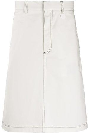 Xander Zhou Mujer Faldas - Falda por la rodilla
