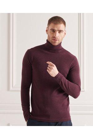 Superdry Jersey en lana merina con cuello vuelto
