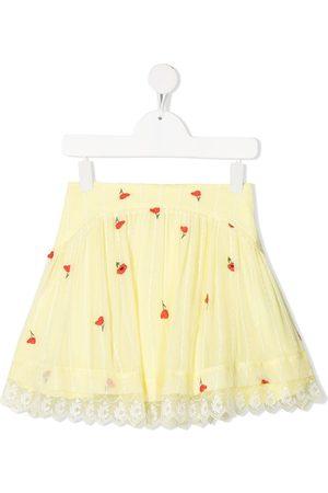 Chloé Niña Faldas - Falda con motivo floral