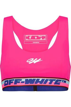 OFF-WHITE Sujetador deportivo con logo