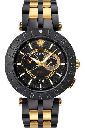 VERSACE Reloj analógico VEBV00619, Quartz, 46mm, 5ATM para hombre