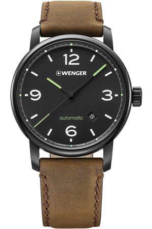 Wenger Reloj analógico 01.1746.102, Automatic, 45mm, 10ATM para hombre