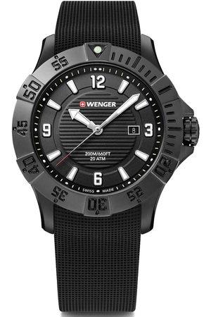 Wenger Reloj analógico 01.0641.134, Quartz, 43mm, 20ATM para hombre