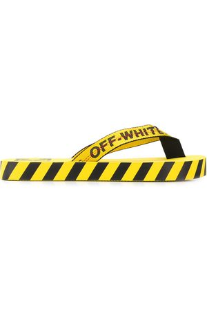OFF-WHITE Hombre Chanclas - Chanclas con logo estampado