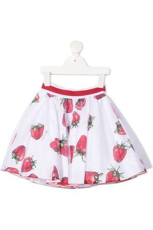 MONNALISA Falda con motivo de fresas