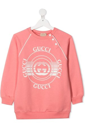 Gucci Sudadera con logo estampado