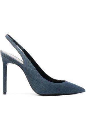 Saint Laurent Zapatos de tacón con tira trasera
